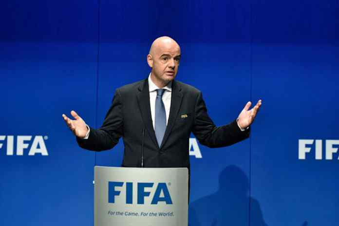 fifa,gianni infantino,fifa world cup,fifa clubs world cup,global nations league