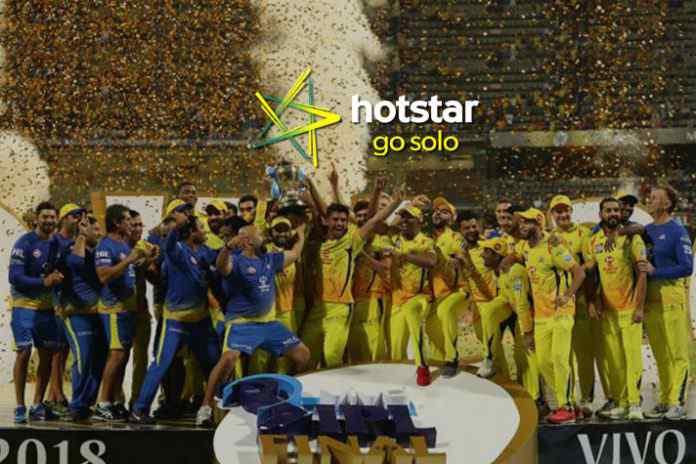 IPL 2018 Final viewership record on Hotstar - InsideSport