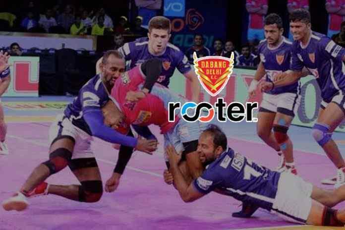 PKL: Rooter teams up with Dabang Delhi as fan engagement partner - InsideSport