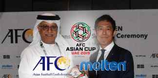afc official match ball supplier,afc asian cup uae 2019,molten corporation,moelten balls,asian football confederation