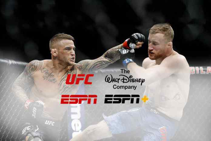 UFC strikes hard in multi-year ESPN+ deal with The Walt Disney Company - InsideSport