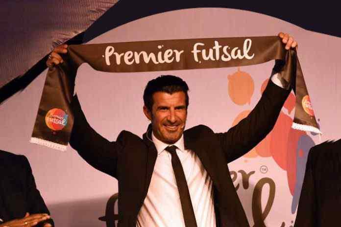 Premier Futsal League President,futsal league,premier futsal luis figo,luis figo Premier Futsal League,Premier Futsal League