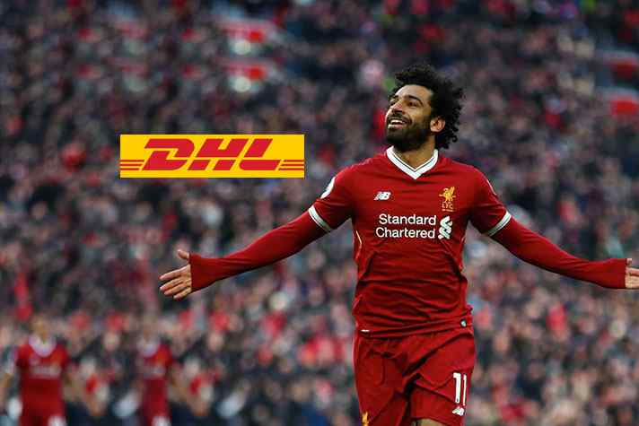 new style afe18 f28a1 DHL signs Liverpool star Mohamed Salah ahead of Champions ...