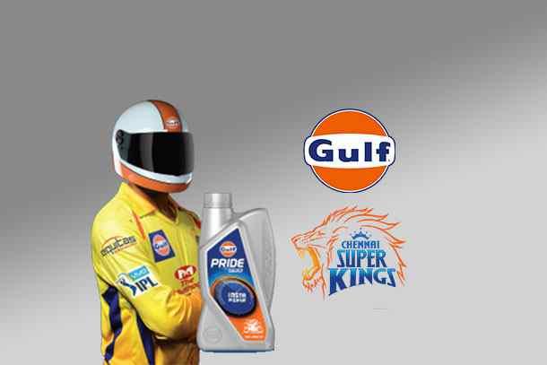 gulf pride 4t plus,dhoni gulf oil's brand ambassador,gulf oil lubricants india limited,ipl 2018 brand Ambassadors,chennai super kings Dwayne Bravo