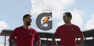 Lionel Messi and Luis Suarez in Gatorade TVC - InsideSport