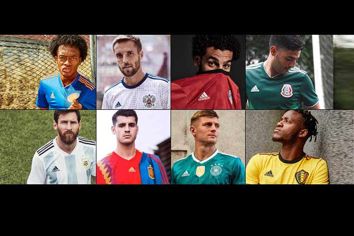 6dd4a15137a FIFA World Cup 2018  Adidas to be the most visible brand during games