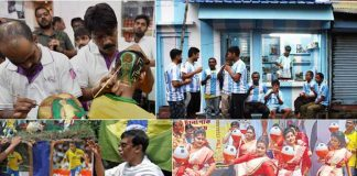 FIFA World Cup 2018: Five pictures show rising World Cup fever in India - InsideSport