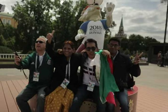 FIFA world Cup 2018 - Winners of bring someone special contest - InsideSport