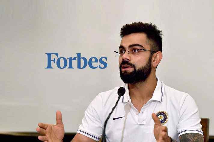 bb47cd706c8d7 Forbes  Highest Paid Athletes  Lone Indian Virat Kohli makes steady gains