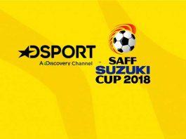 DSport broadcast,SAFF Championship 2018,DSport to broadcast SAFF Championship,South Asian Football Federation,DSport broadcast 2018 in India