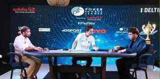 Vishwanathan Anand playing Poker during the season 2 of Poker Sports League - InsideSport