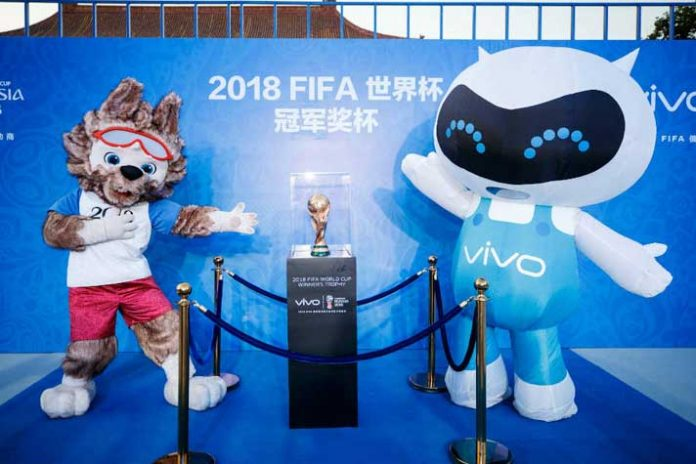 FIFA World Cup 2018: Vivo kicks off the celebration in style - InsideSport