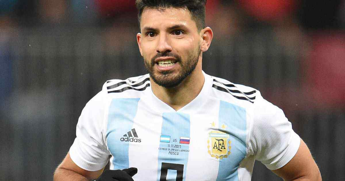 Argentina football star Sergio Agüero - InsideSport