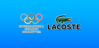 ioc global licensing strategy,olympic games,lacoste olympic heritage collection,lacoste first exclusive Olympic Heritage,international olympic committee