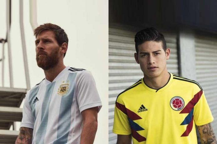 Lionel Messi and James Rodriguez - InsideSport