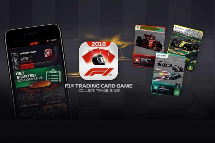 F1 Trading Card Game by Formula 1 - InsideSport