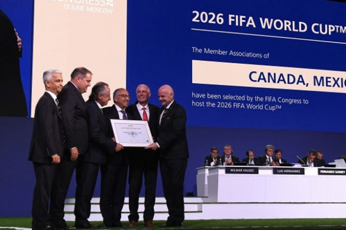 FIFA World Cup 2026 bid 68th FIFA Congress in Moscow
