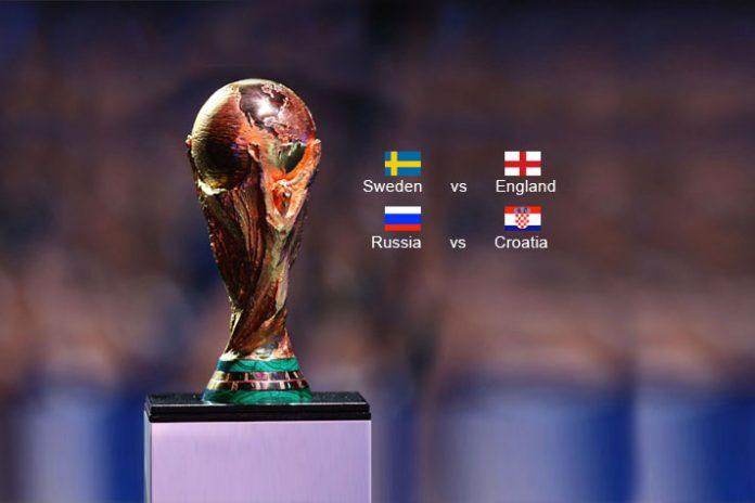 FIFA World Cup 2018 Quarter Finals - InsideSport