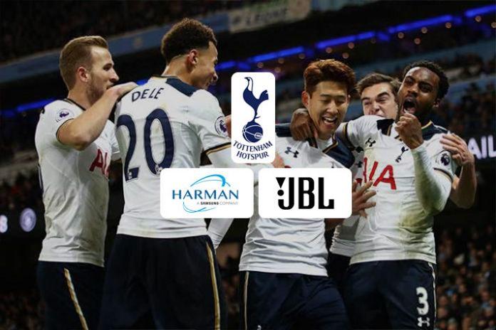 Tottenham Hotspur announce Harman as official audio supplier