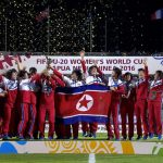 North Korean team after winning the FIFA U-20 Women's World Cup 2016