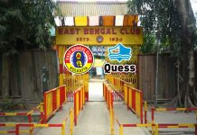 east bengal club quess corporation,east bengal club sponsor quess corporation,quess corporation,i-league,east bengal club