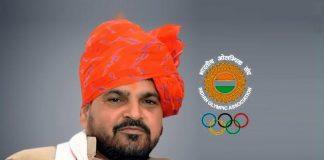 WFI President Brij Bhushan Sharan Singh
