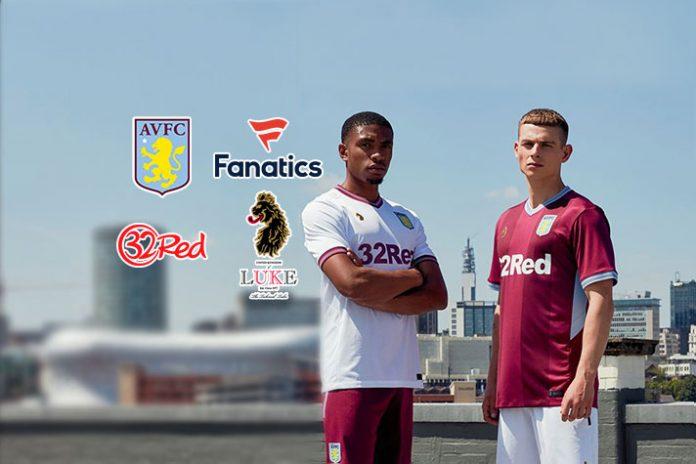 Aston Villa Sponsors:Insidesport