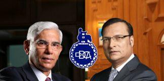 Vinod Rai (left) and Rajat Sharma (right) - InsideSport