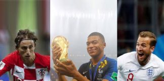 FIFA World Cup 2018 Individual Prize Winners - InsideSport