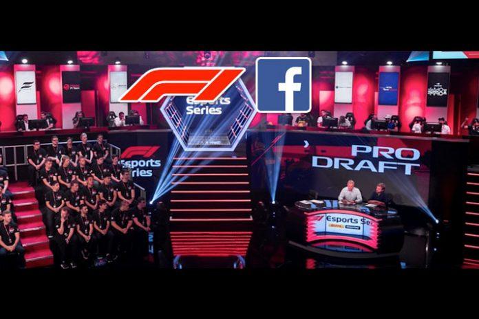 F1 Esports Series,Pro Draft,F1 esports,formula 1,Formula 1 Facebook deal
