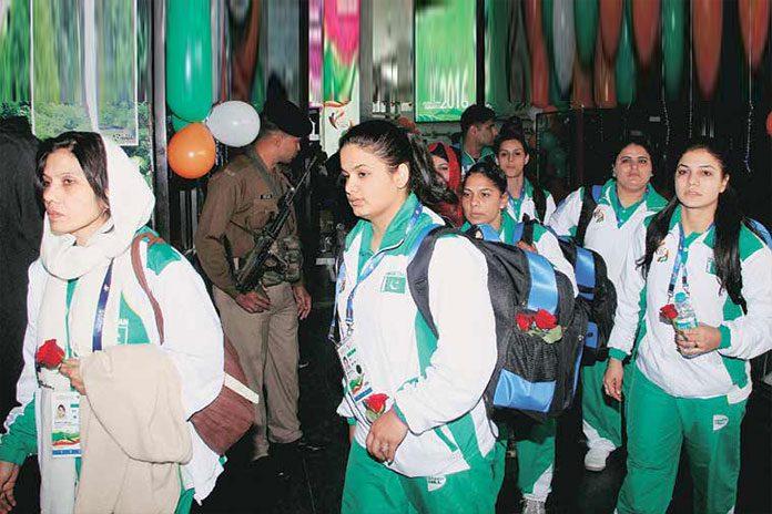 Pakistan athletes