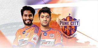 Indian Super League,Rajesh Wadhawan Group,FC Pune City,Alwyn George and Nikhil Poojari,Alwyn George