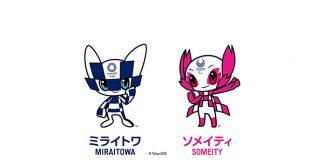 okyo 2020 Mascots