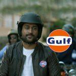 mahendra singh dhoni Brand Ambassador,ms dhoni gulf oil tv ad,ms dhoni gulf oil tvc,Mahendra Singh Dhoni's new promotional video,gulf pride 4t plus ms dhoni