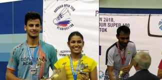 Gen next of Indian badminton take centre stage; gold for Sourabh, Kuhoo-Rohan bag silver