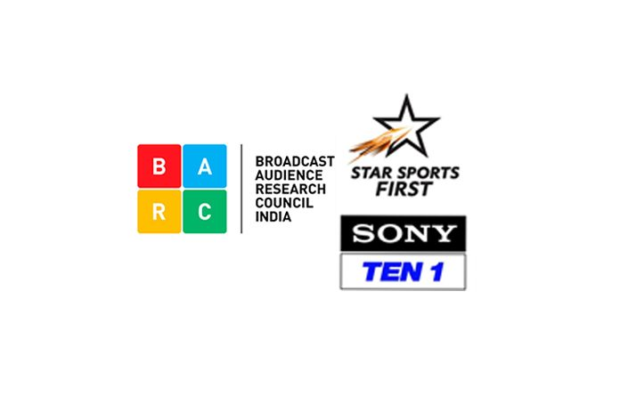 Latest BARC Ratings,Sony Pictures Network,Star Sports First Sony Ten,England India Test match,BARC India television ratings