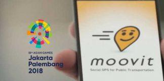 moovit, asian games 2018, 2018 asian games, asian games, asian games moovit