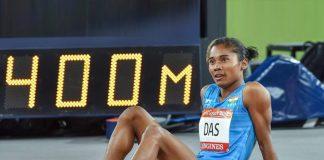 hima das running, hima das record, hima das gold medal, hima das, hima das 400m record
