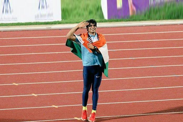 Neeraj Chopra, Neeraj Chopra Asian Games, Neeraj Chopra Flag Bearer, Asian Games opening ceremony, games