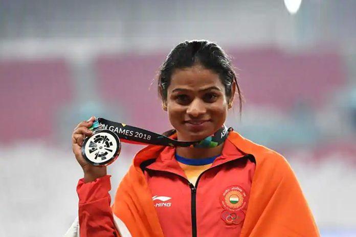 Dutee Chand,Odisha Dutee Chand cash award,Dutee Chand Cash Prize,Asian Games 2018 winner,dutee chand asian games winner news