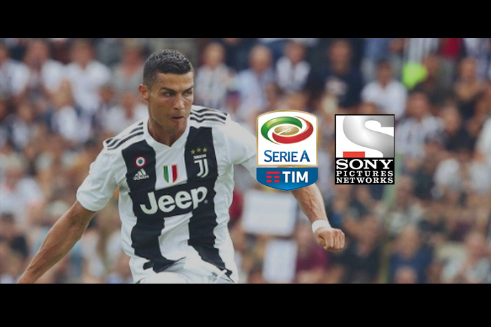 more photos 7810d 78d7f Ronaldo presence makes Serie A hot property for Sony India ...