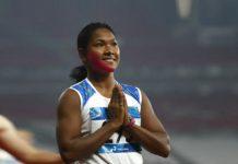 Asian Games,Swapna Barman wins Asian Games,Swapna Barman,government job for Swapna Barman,gold medal winner indian player asian games