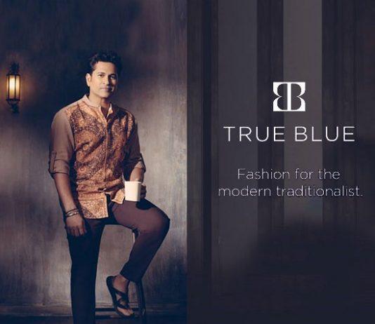 true blue arvind,sachin tendulkar true Blue,Sachin Tendulkar,true blue sachin,sachin brand