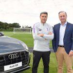 tottenham hotspur announcement,audi and Tottenham Hotspur,spurs club,Tottenham Hotspur partner with Audi,hotspur Partner with Audi