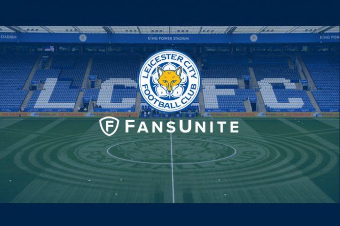 leicester city,football club,Premier League club Leicester City,global partnership with FansUnite Entertainment,Leicester City partnership