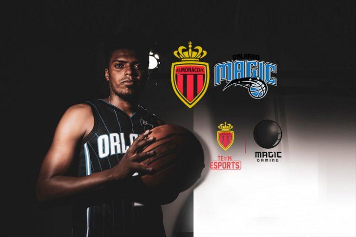 As Monaco,Orlando Magi,Monaco Orlando Magic Partnership,NBA team Orlando Magic together,Ligue 1 club
