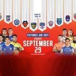 Hero ISL,Indian Super League,Hero ISL fixtures,Kerala Blasters in Hero ISL,Hero ISL fixtures announced