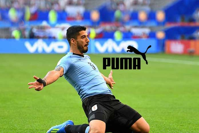 0a760a3471d Luis Suarez switches from Adidas to Puma in £1 million deal