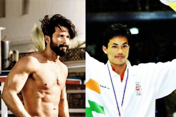 Boxer Ngangom Dingko Singh,Dingko Singh,Shahid Kapoor,shahid kapoor in Boxer Dingko Singh biopic,asian games