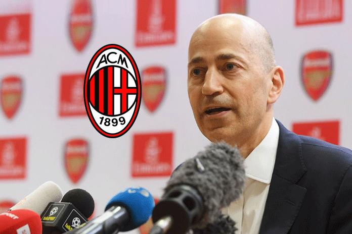 Arsenal CEO Ivan Gazidis